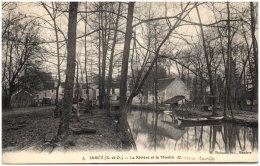 91 JARCY - La Rivière Et Le Moulin   (Recto/Verso) - Autres Communes