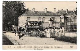 37 INDRE ET LOIRE - BEAUMONT EN VERON Fondation Grébon De Pontourny, Une Excursion - Autres Communes