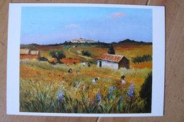 CP - Dyf - La Cueillette Des Iris - Paintings