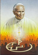 Switzerland 1984 / Pope / John Paul II / Papst Besuch / Johannes Paul II In Der Schweiz / Coin - Medal - Fichas Y Medallas