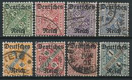 D. Reich Dienst. Nr. 57-64 ~ Michel 36,-- Euro - Dienstpost