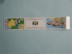 1968  Gabon Yvert  PA 78A ** Bateaux Ships  Scott Xx  Michel 318/9 SG Xx Port  Owendo Harbour - Gabon (1960-...)