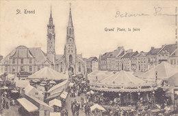 St Trond - Sint-Truiden - Grand' Place, La Foire (top Animation, Nels, 1906) - Sint-Truiden
