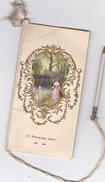 CARNET De BAL COMMUNE De MOUROUX (77) - Jeunes Gens De L'Usine D'ORFEVRERIE - Gauffré Bel état 1911 Pt Mr CHAMBARD - Ohne Zuordnung