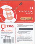 ARMENIA - ArmenTel Prepaid Card 2500 AMD, Exp.date 31/12/08, Mint - Armenia
