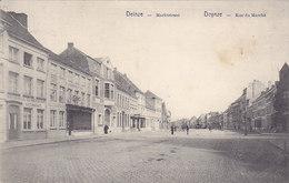 Deinze Deynze - Marktstraat - Rue Du Marché (estaminet, Edit. Roger Van Goethem, 1914) - Deinze