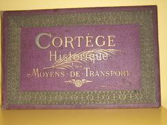 Cortège Historique Des Moyens De Transport. Cinquantenaire Des Chemins De Fer Belges. Dessins Et Aquarelles A. Heins. - Livres, BD, Revues