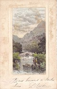 Felicitacion Con Paisaje 1908 - France