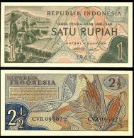 Indonesia 1 RUPIAH 1961 P 78 UNC (Indonésie, Indonesien, Indonesië) - Indonesia