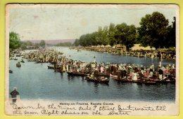 Oxfordshire - Henley-on-Thames, Regatta Course - Postcard - 1903 - Otros