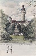263796Leipzig, Neues Rathaus V. J. Warze 1911 (Hand Gezeichnet ??) - Leipzig
