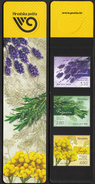 Croatia 2016 / Bookmarks / Bookmarker / Stamps / Plants / Lavender, Rosemary, Curry Plant - Segnalibri