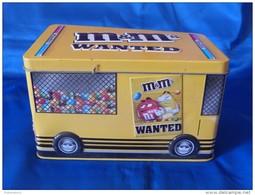 """Boîte Métallique """"M&M's"""" Bus Autocar - Boîtes"""