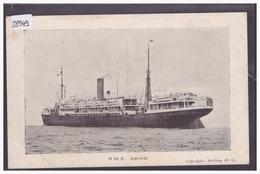 PAQUEBOT R.M.S. ABINSI - B ( PETIT PLI D'ANGLE ) - Steamers