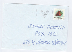 SWEDEN COVER Stamps STRAWBERRY Fruit Food - Fruits
