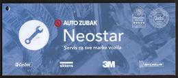 Croatia 2017 / Auto Zubak Neostar / Service For All Car Types - Advertising