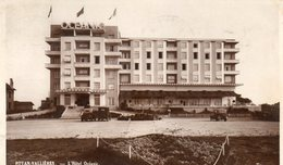 CPSM ROYAN VALLIERES. Hotel Océanic. 1939. - Royan