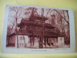 B8 7970 - 75 EXPOSITION COLONIALE INTERNATIONALE - PARIS 1931 -  PAVILLON DE L'ANNAM - PUB AU VERSO : CACAO VAN HOUTEN - Expositions