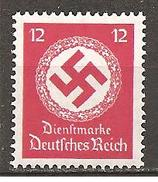 DR 1934 // Mi. 138 ** (029..439) - Service