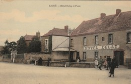 44 - LIGNE - Hôtel Delay Et Poste - Ligné