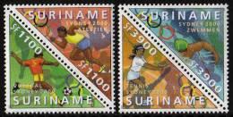 Surinam / Suriname 2000 Olympic Olympiade Soccer Swimming Tennis Atletics MNH - Zomer 2000: Sydney