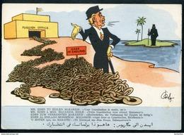 Mr. Eden To Exiled Makarios:Your Constitution Is Reday,Sir !, Hochwürden,Verfassung Für Zypern Ist Fertig ! Cyprus - Zypern