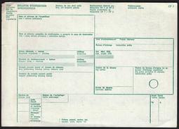 Yugoslavia / Post / Shipment Document / Bulltein D'Expedition - Historische Dokumente