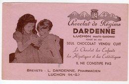 Juin17   78650   Buvard    Dardenne   Chocolat   Luchon - Cocoa & Chocolat