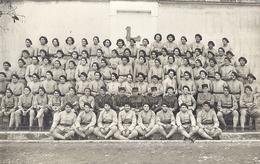 CHASSEURS ALPINS   CARTE PHOTO - Guerre, Militaire
