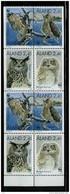 Aland Åland 1996 World Wildlife: Eagle Owl. Mi 109-112 X2 From Booklet MH 4 MNH - Aland