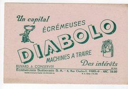 Juin17   78644   Buvard     Diabolo  Machine A Traire - Agriculture