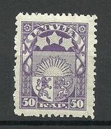 LETTLAND Latvia 1922 Michel 77 MNH - Latvia