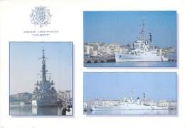 """BATEAU DE GUERRE ( France ) Warship Kriegsschiff Oorlogsschip : Le Croiseur """" COLBERT """" - Jolie CPM GF - Warships"""