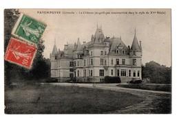 33 - PAREMPUYRE . LE CHÂTEAU - Réf. N°3135 - - France