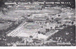Illinois Springfield Aerial Fair Illinois State Fair 1959 - Springfield – Illinois