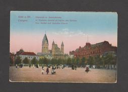 """Cologne /Koln  """"Le Nouveau Marché Et L'église Des Apotres- Neumarkt Am Apostelkirche """"   (REF 424) - Allemagne"""