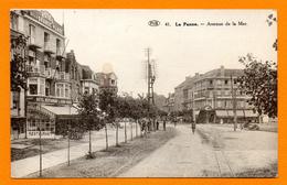 La Panne. Avenue De La Mer. Hôtel De La Grande Place Et Hôtel Mon Bijou - De Panne