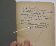 HANNECART: CEUX QUI ONT VAINCU Scènes De La Vie Du Front _ AUTOGRAFATO E DEDICATO A PAUL RéMOND !_ Prima Guerra Mondiale - Teatro