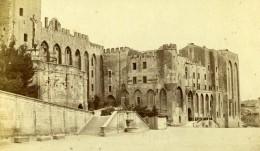 France Avignon Le Château Palais Des Papes Ancienne Photo CDV Neurdein 1870 - Old (before 1900)