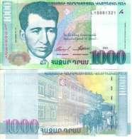 Arménie - Armenia 1000 DRAM (2001) Pick 50 NEUF-UNC - Arménie