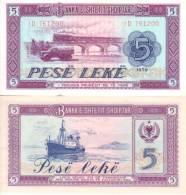 Albanie - Albania 5 LEKE (1976) Pick 42 NEUF-UNC - Albania