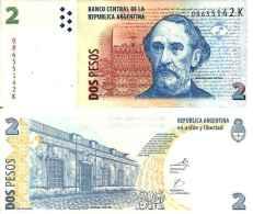 Argentina - Argentine - 2 PESOS (1997-02) Pick 346 UNC - Argentine
