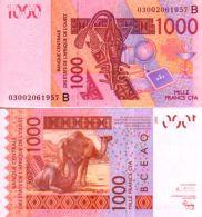 West Africa States - Bénin 1000 FRANCS (2003) Pick 215Ba NEUF-UNC - Benin