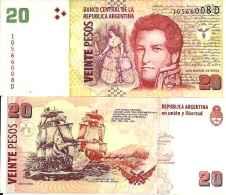 Argentine - Argentina 20 PESOS (2003) Pick 355 UNC - NEUF - Argentina