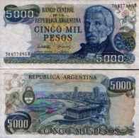 Argentine - Argentina 5000 PESOS (1977-83) Pick 305b NEUF - UNC - Argentina