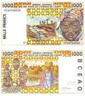 Burkina Faso - 1000 FRANCS - 1995 - Pick 311Cf - NEUF/UNC - Burkina Faso