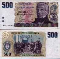 Argentina - Argentine  500 PESOS ARGENTINOS (1984) Pick 316 UNC - Argentina