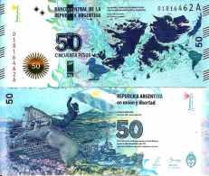Argentine - Argentina 50 Pesos 2015 Série A ( ISLAS MALVINAS)  UNC - Argentina