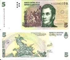 Argentine - Argentina 5 PESOS (2003) Pick 353r (Remplacement) UNC - Argentinië