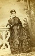 France Nancy Eugénie Darantière Famille Mirabeau Ancienne Photo CDV Chatelain 1870 - Photographs